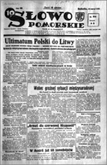 Słowo Pomorskie 1938.03.19 R.18 nr 64