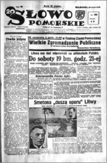 Słowo Pomorskie 1938.03.20 R.18 nr 65