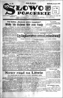 Słowo Pomorskie 1938.03.26 R.18 nr 70