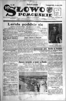 Słowo Pomorskie 1938.03.31 R.18 nr 74
