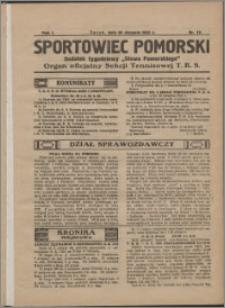 Sportowiec Pomorski 1925, R. 1 nr 12