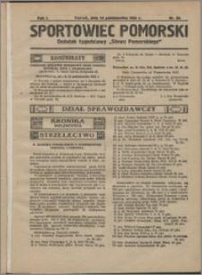 Sportowiec Pomorski 1925, R. 1 nr 20