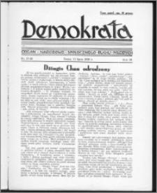 Demokrata 1936, R. 3, nr 27-28