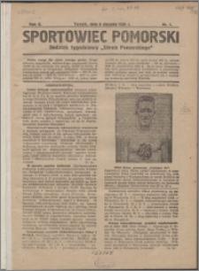 Sportowiec Pomorski 1926, R. 2 nr 1