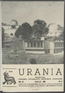 Urania 1985, R. 56 nr 3