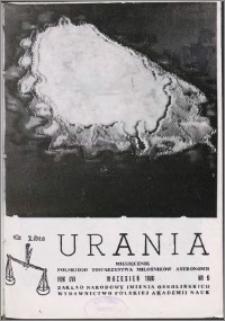 Urania 1986, R. 57 nr 9
