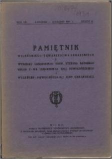 Pamiętnik Wileńskiego Towarzystwa Lekarskiego 1931, R. 7 z. 6