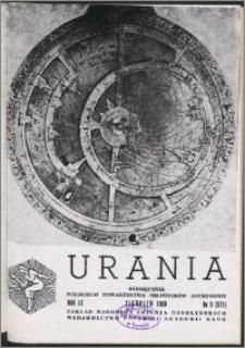 Urania 1989, R. 60 nr 8 (571)