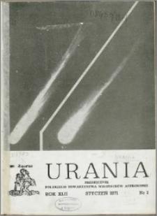 Urania 1971, R. 42 nr 1