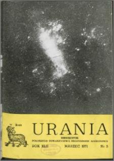 Urania 1971, R. 42 nr 3