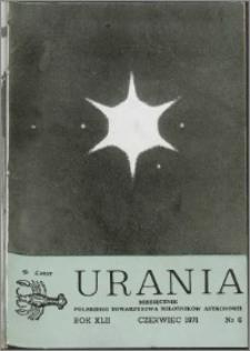 Urania 1971, R. 42 nr 6