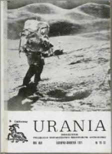 Urania 1971, R. 42 nr 11/12
