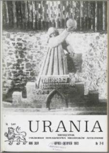 Urania 1973, R. 44 nr 7/8