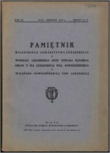 Pamiętnik Wileńskiego Towarzystwa Lekarskiego 1933, R. 9 z. 3/4