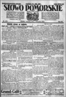 Słowo Pomorskie 1923.11.01 R.3 nr 251