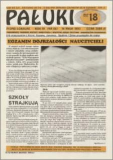 Pałuki. Pismo lokalne 1993.05.14 nr 18 (66)