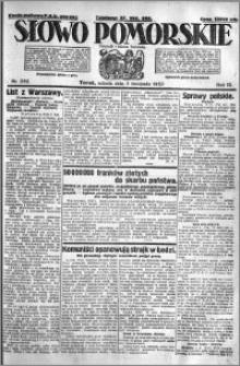 Słowo Pomorskie 1923.11.03 R.3 nr 252