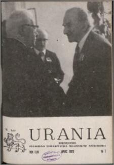 Urania 1975, R. 46 nr 7