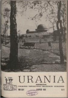 Urania 1975, R. 46 nr 8