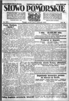Słowo Pomorskie 1923.11.06 R.3 nr 254