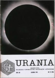 Urania 1991, R. 62 nr 11 (598)
