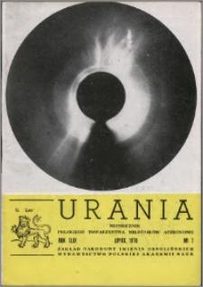 Urania 1978, R. 49 nr 7