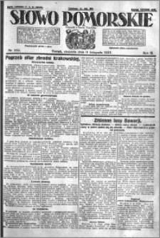 Słowo Pomorskie 1923.11.11 R.3 nr 259