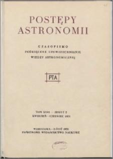 Postępy Astronomii 1978, T. 26 z. 2
