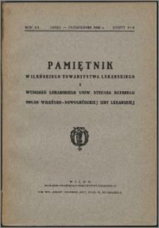 Pamiętnik Wileńskiego Towarzystwa Lekarskiego 1936, R. 12 z. 4/5