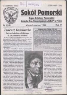 Sokół Pomorski 1996, R. 4 nr 1
