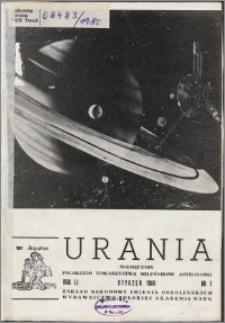 Urania 1980, R. 51 nr 1
