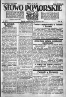 Słowo Pomorskie 1923.11.17 R.3 nr 264