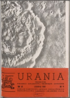 Urania 1981, R. 52 nr 11