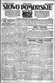 Słowo Pomorskie 1923.11.18 R.3 nr 265