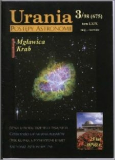 Urania - Postępy Astronomii 1998, T. 69 nr 3 (675)