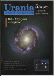 Urania - Postępy Astronomii 1998, T. 69 nr 5 (677)