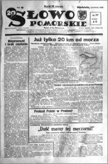 Słowo Pomorskie 1938.04.03 R.18 nr 77