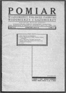 Pomiar 1937, R. 4, nr 7