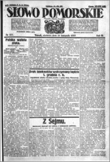 Słowo Pomorskie 1923.11.25 R.3 nr 271