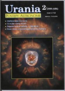 Urania - Postępy Astronomii 2000, T. 71 nr 2 (686)