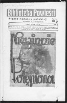 Biblioteka Powieści 1939, R. 1, nr 4