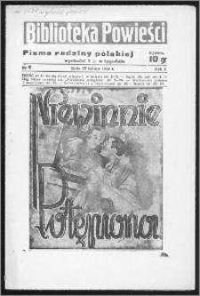 Biblioteka Powieści 1939, R. 1, nr 8