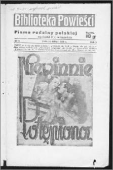 Biblioteka Powieści 1939, R. 1, nr 9
