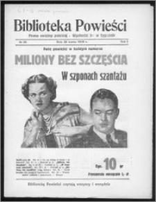Biblioteka Powieści 1939, R. 1, nr 25