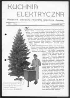 Kuchnia Elektryczna 1937, R. 1, nr 4