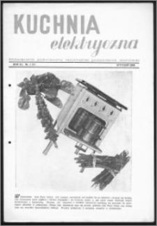 Kuchnia Elektryczna 1939, R. 3, nr 1