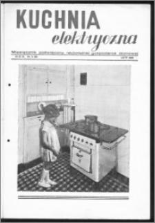 Kuchnia Elektryczna 1939, R. 3, nr 2