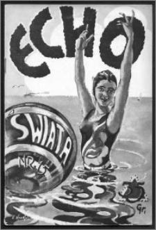 Echo Świata 1932, R. 2, nr 15