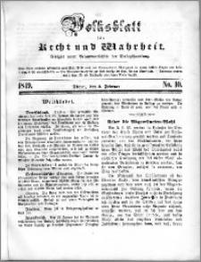 Volksblatt 1849, nr 10