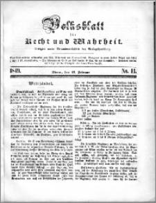 Volksblatt 1849, nr 14
